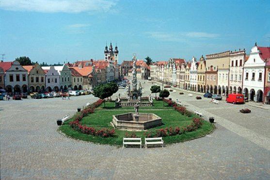 Historické náměstí Telče