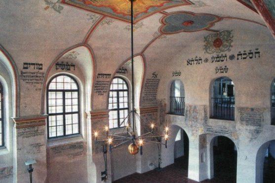 Třebíč - interiér v zadní synagoze